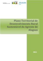Plano Territorial de Desenvolvimento Rural Sustentável do Agreste de Alagoas