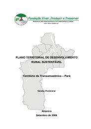 PLANO TERRITORIAL DE DESENVOLVIMENTO RURAL ... - SIT