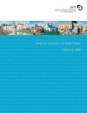 Aceda ao Relatório Anual de 2008 no formato pdf - IGCP