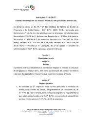 1 Instrução n.º 2-C/2012* Em issão de obrigações do ... - IGCP