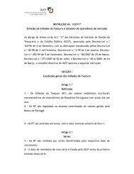 INSTRUÇÃO No. 1/2011* Em issão de bilhetes do Tesouro e ... - IGCP