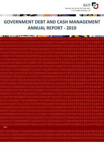 GOVERNMENT DEBT AND CASH MANAGEMENT ANNUAL REPORT - 2010