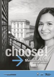Download Mannheim MBA Program PDF - Quantum Test Prep