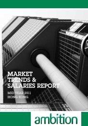 MARKET TRENDS & SALARIES REPORT - Ambition