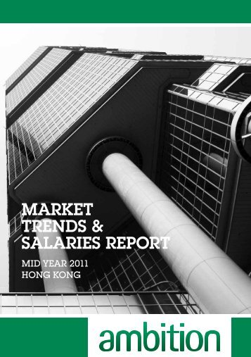 MARKET TRENDS & SALARIES REPORT - Ambition