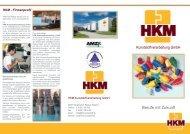 Berufe mit Zukunft - HKM Kunststoff