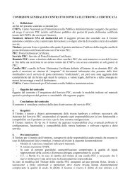 CONDIZIONI GENERALI DI CONTRATTO DI POSTA ... - Andi