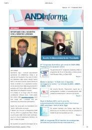 11/09/2013 ripartiamo con l'incontro con il ministro lorenzin - Andi
