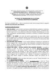 Primo Circolo - Ufficio Scolastico Territoriale di Cremona