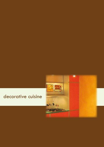 decorative cuisine