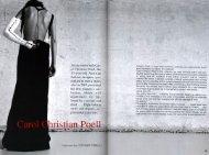 fashion statements - Carol Christian Poell