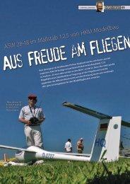 Datenblatt Segelflug - HKM Modellbau