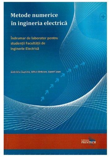 Metode numerice în ingineria electrică