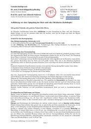 Gemeinschaftspraxis Loisach Ufer 30 Dr. med. Ulrich Klüppelberg ...