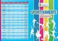 Sportivamente Insieme Anno scolastico 2012/2013 Adulti