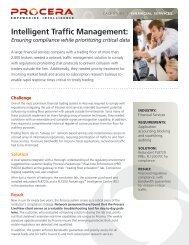 Intelligent Traffic Management