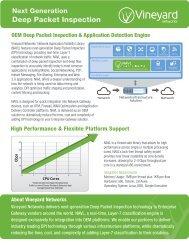 next-generation Deep Packet Inspection - Procera Networks