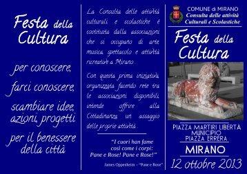 Festa Cultura Festa Cultura