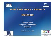 Introduction - IPv6 Task Force