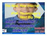 The New New Internet IPv6 Technology's Next Big Step