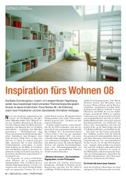 Inspiration fürs Wohnen 08 - roesch-basel