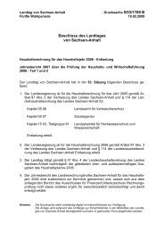 Beschluss des Landtages von Sachsen-Anhalt - Der Landtag von ...