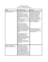 April 2011 - NP/CNM/PA Professional Practice Group