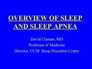 AND SLEEP APNEA