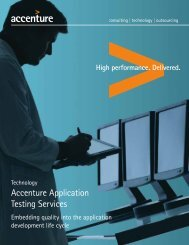 Accenture Application Testing Services