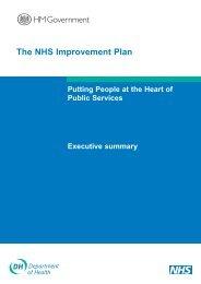 The NHS Improvement Plan