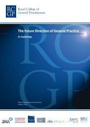 The Future Direction of General Practice