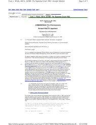 Page 1 of 5 Com. v. Walls, 449 A. 2d 690 - Pa: Supreme Court 1982 ...