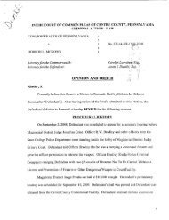 McKown Arms Charges Omnibus Opinion - TheCrimsonPirate.com