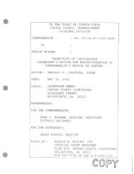 Mckown Arms Charges Limine Rehearing Transcript 05/31/2011