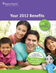 Your 2012 Benefits