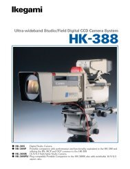 The HK-388 with Full Digital Power - Ikegami