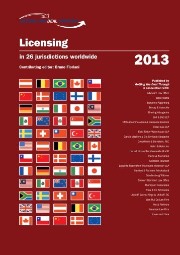 Licensing - Garcia Nadal & Asociados