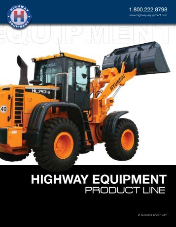 LINE CARD - Highway Equipment