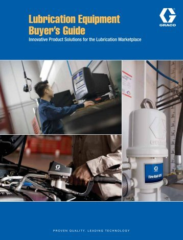 Lubrication Equipment Buyer's Guide