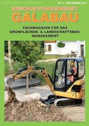 landschaftsbau - Beschaffungsdienst GaLaBau