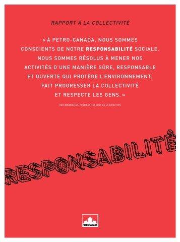 Télécharger le Rapport à la collectivité 2004