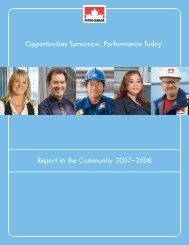 Opportunities Tomorrow Performance Today Report to the Community 2007–2008