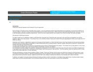 Carbon Disclosure Project Module Introduction