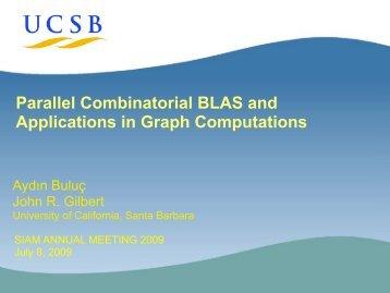 Primitives for Graph Computations