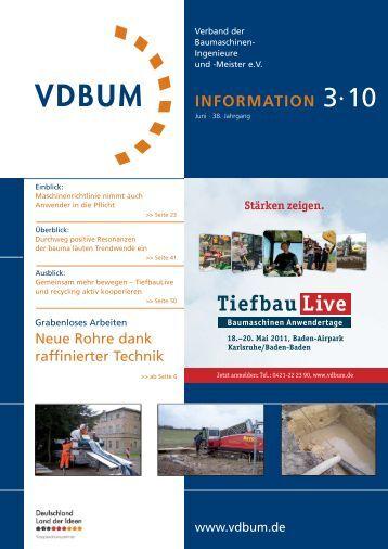 VDBUM 3-2010 - Bauforum24