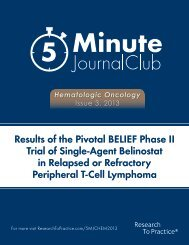 in Relapsed or Refractory Peripheral T-Cell Lymphoma