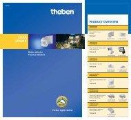 Theben AG - Motion detector & Presence detectors