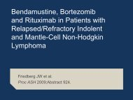 Mantle-Cell Lymphoma - Research To Practice
