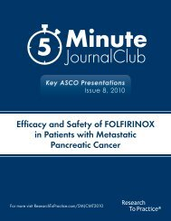Efficacy and Safety of FOLFIRINOX in Patients with Metastatic Pancreatic Cancer