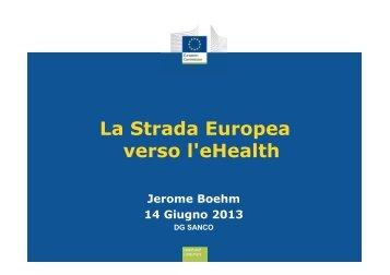 La Strada Europea verso l'eHealth